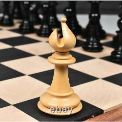 3.7 Emperor Series Staunton Chess Pieces Only set- Double Weighted Rose Wood