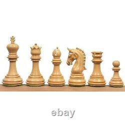 3.8 Imperial Staunton Luxury Chess Pieces Only set Weighted Rosewood