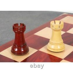 3.9 Professional Staunton Chess Pieces Only Set Weighted Budrose wood