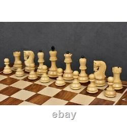 3.9 Russian Zagreb 59' Series Chess Pieces only set Weighted Ebonised wood