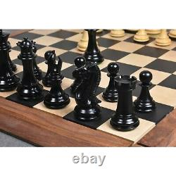 4.1 Traveller Staunton Luxury Chess Pieces Only set-Triple Weighted Ebony Wood