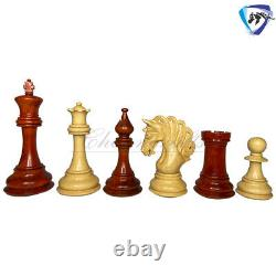 4.2 Bud Rosewood Luxury Staunton Chess Pieces Set MAYFIELD Weighted-4 Queens