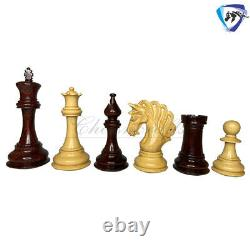 4.2 Rosewood Luxury Staunton Chess Pieces Set MAYFIELD Weighted-4 Queens