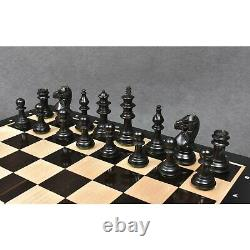 4.2 Supreme Luxury Series Staunton Chess Pieces Only set Weighted Boxwood