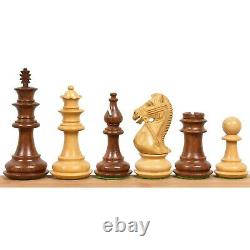4.2 Supreme Luxury Sheesham Wood Weighted Chess Pieces set Extra Queens