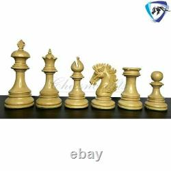 4.5 Bud Rosewood Luxury Staunton Chess Pieces Set WELLINGTON Weighted-4 Queens