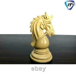 4.5 Ebony Wood Staunton Chess Pieces Set HADRIAN Series 4 Queens & Weighted