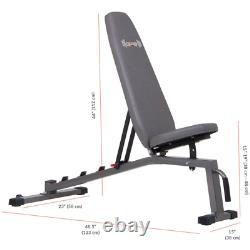 Body Champ Two Piece Set Olympic Weight Bench with Squat Rack PRO3900