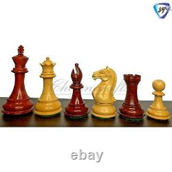 Bud Rosewood Staunton Chess Pieces Set Fierce Knight 4 Weighted 2 extra queens