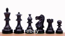 Chess Set Wooden Wenge Board Classic Staunton Handmade Ebonised Weighted Pieces