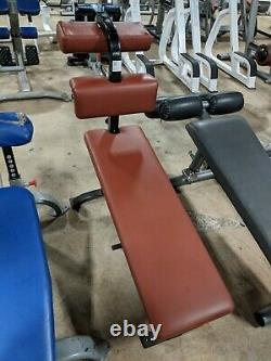 Cybex Classic OLYMPIC BENCH SET 6-Piece Gym Exercise Weight Benches