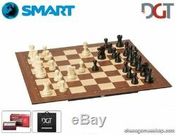 DGT SMART Board WI + Plastic weighted chess pieces + PI+Bag-Electronic CHESS set