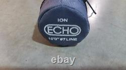 Echo Ion 10 ft Fly Rod 7 weight 4 piece set with carrying case 7100-4