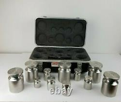 Rice Lake Weighing Systems Calibration Weight Set 21 Piece, Lbs
