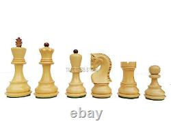 Russian Zagreb Chess Pieces Set King 3.75 Weighted 2 Extra Queens