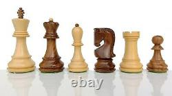 Russian Zagreb Chess Pieces Set King 4 Weighted 2 Extra Queens