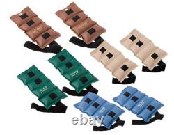 The Cuff Original Ankle and Wrist Weight 8 Piece Set 2 each 10, 12.5, 15