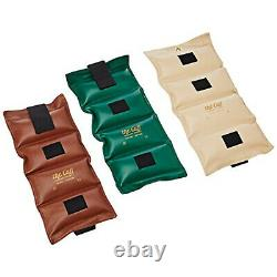The Cuff Original Ankle and Wrist Weight 8 Piece Set 2 each 10, 12.5, 15, 20