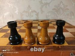 Vintage USSR chess set, Big weighted pieces