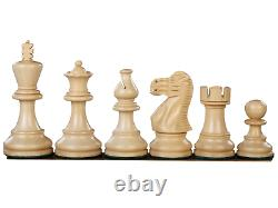 Wooden Chess Set Mahogany Board 16 Weighted Sheesham Classic Staunton Pieces 3
